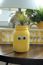 creative planters for kids with painted glass jars darice