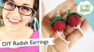 how to make clip on earrings make lovegood s radish earrings fairweather