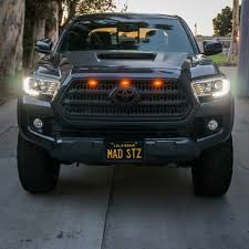 tacoma grill light bar navi light kit tacoma pros