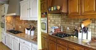 repeindre cuisine en bois relooker cuisine bois finest relooking cuisine avec bois de palette