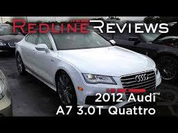 audi a7 quattro review 2012 audi a7 3 0t quattro review walkaround start up rev