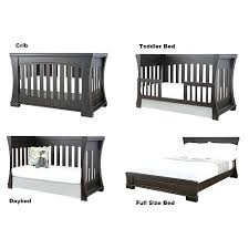 Convertible Crib Toddler Bed Convertible Toddler Bed The Four Different Configurations Of A