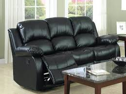 Used Reclining Sofa Impressive Black Leather Reclining Sofa Recliner Home Sofas For