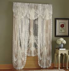 Rooster Lace Curtains by Window Treatments Montgomery Ward