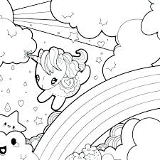 coloring pages of unicorns and fairies coloring page unicorn printable fairy unicorn coloring page for