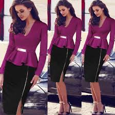 wholesale wholesale uk fashion womens dress 2015 women ruffles v