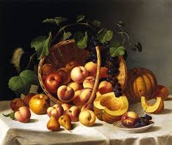 basket of fruit basket of fruit f francis painting reproductions and