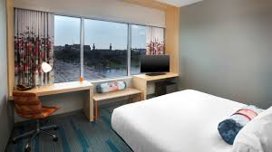 Ultra King Bed Tampa Accommodations Aloft Tampa Downtown Hotel Accommodations
