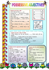 27 best possessives images on pinterest printable worksheets