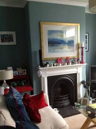 oval room blue combined with wimbourne white on the gloss work