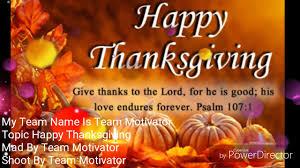 byron owens topic thanksgiving