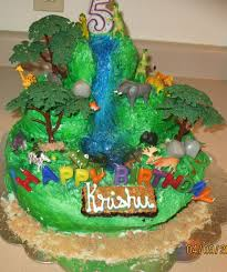 jungle cakes u2013 decoration ideas little birthday cakes