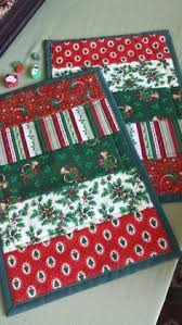 Mug Rug Designs Christmas Mug Rugs Christmas Holiday Quilted Mug Rugs Cardinals