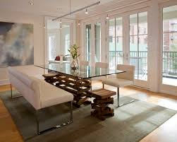 Best Glass Dinning Table Base Ideas Images On Pinterest - Glass dining room table bases