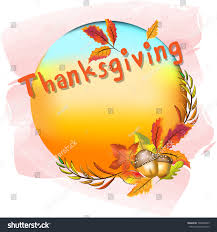 thanksgiving concept tag background thanksgiving words stock