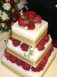 rose wedding cakes http www cake decorating corner com