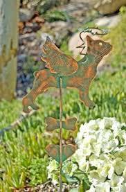Sheet Metal Garden Art - sale german shepherd pet grave marker metal garden art pet