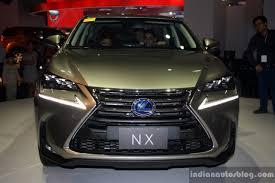 lexus nx300h india lexus nx 300h front at the campi 2014 indian autos blog