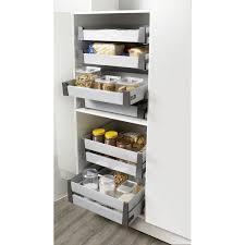rangement pour meuble de cuisine cuisine colonne de rangement pour four encastrable made in