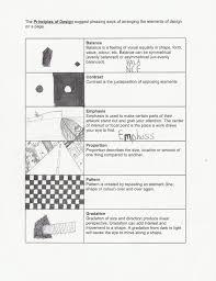 Symmetrical Shapes Worksheets Principles Of Design Worksheet N Whiffen U0027s Online Portfolio