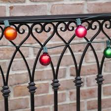 Outdoor Patio String Lights Globe by Patio Lights Commercial Multicolor Satin Party Lights 50 G50