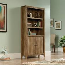 Bookcase With Cupboard Bookcases With Doors You U0027ll Love Wayfair