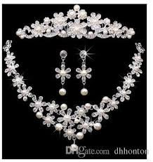 bridal accessories tiaras hair necklace earrings accessories