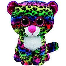 ty beanie boo plush dotty leopard 15cm amazon uk toys