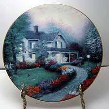 home sweet home collector plate by kinkade