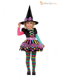witch costume dresses girls halloween witch costume deluxe fancy dress childrens