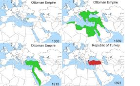 map of ottoman empire rise and fall of the ottoman empire geography education