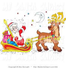 santa claus reindeer clip art u2013 clipart free download