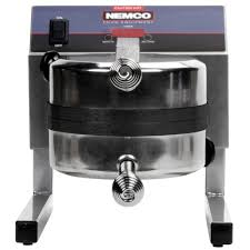 nemco 7020a 1s208 silverstone non stick belgian waffle maker with