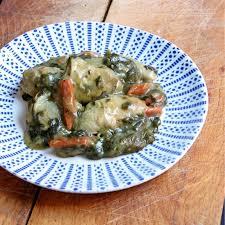 plat cuisine plat cuisiné hyperprotéiné aiguillettes de poulet et épinards à la crème