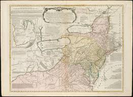 Map New York Connecticut by A General Map Of The Middle British Colonies In America Viz