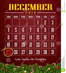 calendar 2016 with day stock illustration image 57345715