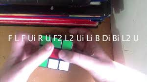 how to do cube in a cube pattern on 3x3 youtube