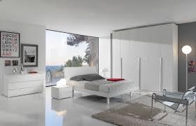 modern style white interior bedroom home interiores