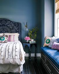 color trend home decor navy blue interior design