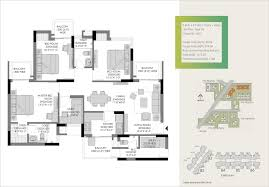 3 floor plan 3 bhk ready to move flats in gurgaon the heartsong experion