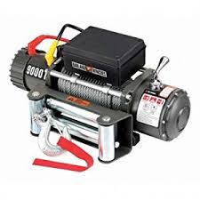 amazon com 9000 lb electric winch with automatic brake three