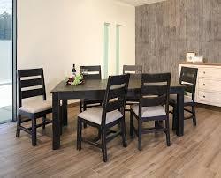 black rustic dining table ifd furniture 370 pueblo black rustic dining room set dallas