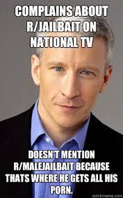Anderson Cooper Meme - scumbag anderson cooper memes quickmeme