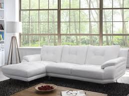 canape d angle en cuir blanc canapé d angle en cuir blanc gabriel