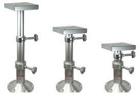 rv table pedestal adjustable telescopic table bed pedestal mount boat marine motorhome rv