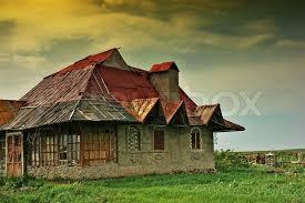 house plains old abandoned house on the plains stock photo colourbox