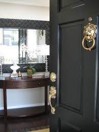 Black Exterior Gloss Paint - marcus design before u0026 after my front door