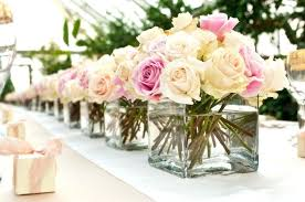 wedding table flower centerpieces how to make flower centerpieces for a bridal table fabulous wedding