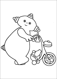 night garden coloring pages coloring kids