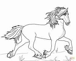 horse coloring page free printable coloring pages